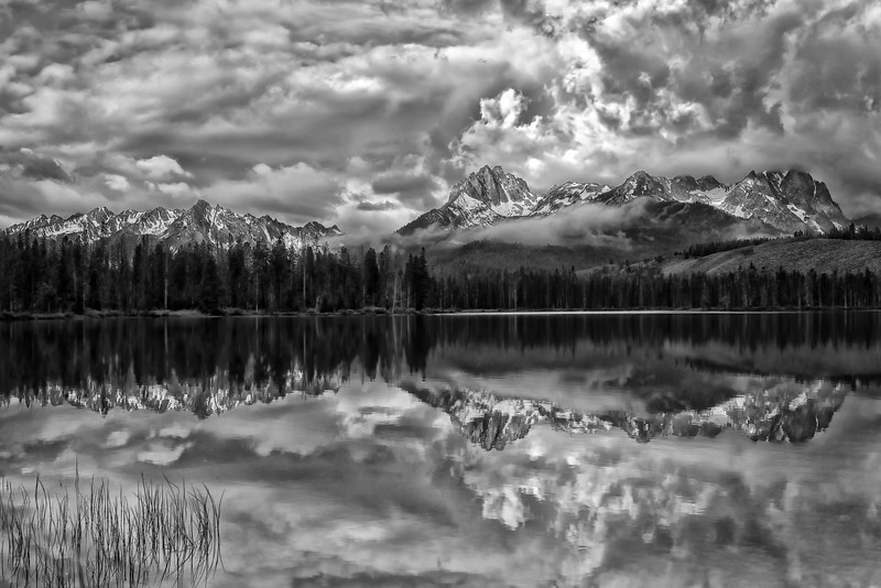 Mono Mountainscape