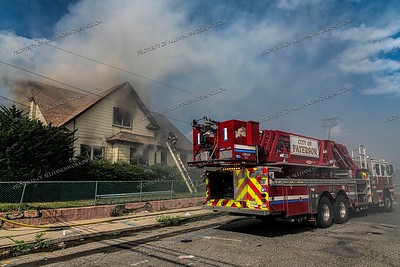 2nd Alarm Dwelling Fire - E 24th St, Paterson, NJ - 7/4/20
