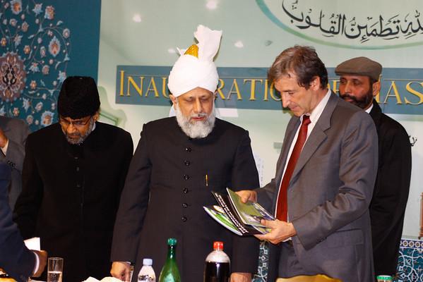 Inauguration Mubarak Mosque France