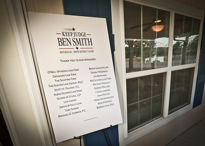 Honorable Ben Smith Re Election event 8620