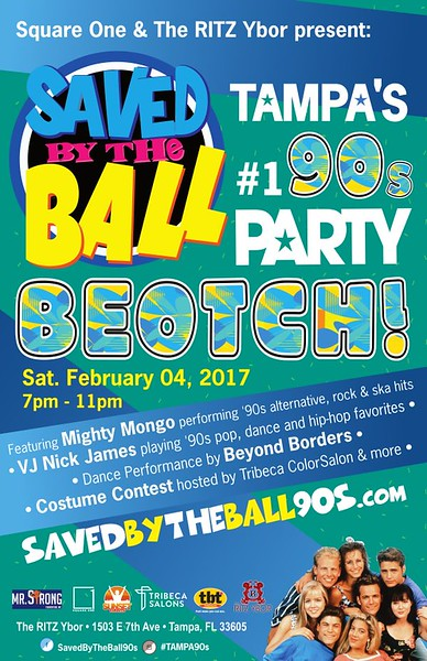 Poster 11x17 - Saved By The Ball.jpg