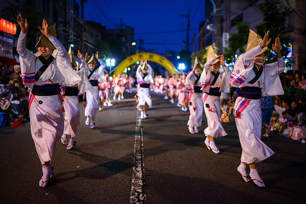 Shooting the 58th Koenji Awaodori!