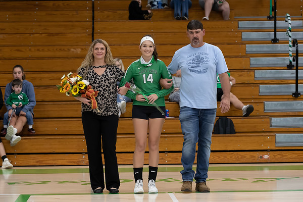 Volleyball Senior Night 10052020