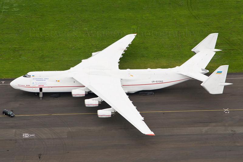 UR-82060. Antonov An-225 Mriya. Antonov Design Bureau. Prestwick. 230607.