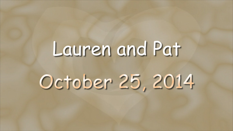Lauren and Pat