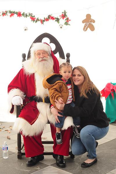 2013 Jinglefest Portraits with Santa