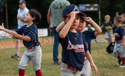 Rose Capital East Little League First Games by Sarah A. Miller