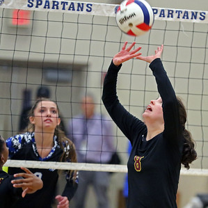 St. Francis vs Montini Volleyball
