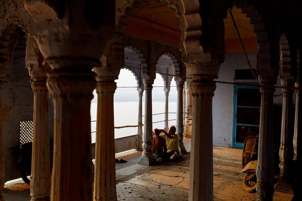 Reisfotografie Varanasi