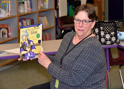 Author Grannie Snow Visits Fisher photos by Gary Baker