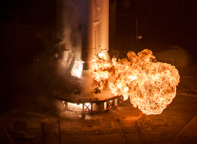 ULA Delta II launches SMAP from Vandenberg AFB, CA.  01-31-2015