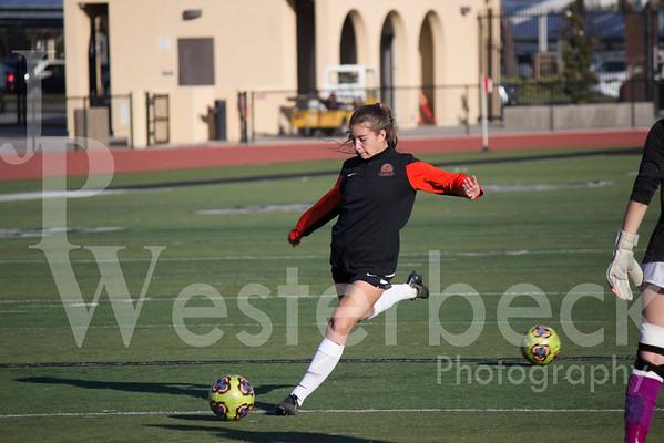 Varsity Girls Soccer vs El Dorado
