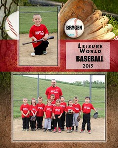 Leisure World/ Little League Team