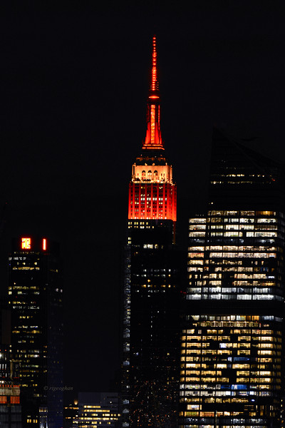 NYC Empire State Building Lunar New Year