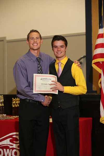 RCS Winter Sports Awards - March 9, 2015
