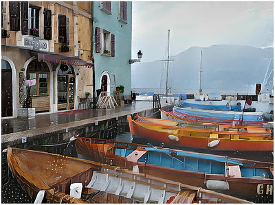 Garda Lake - Castelletto Fantasy