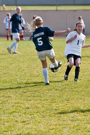 BLMS Soccer vs Issaquah, 3/25/10
