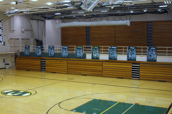 2010-2011 Volleyball Gym Banners
