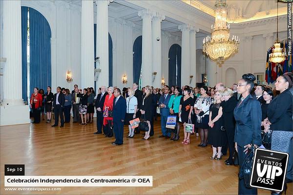 Celebracion Independencia de Centroamerica @ OEA | Wed, Sep 10