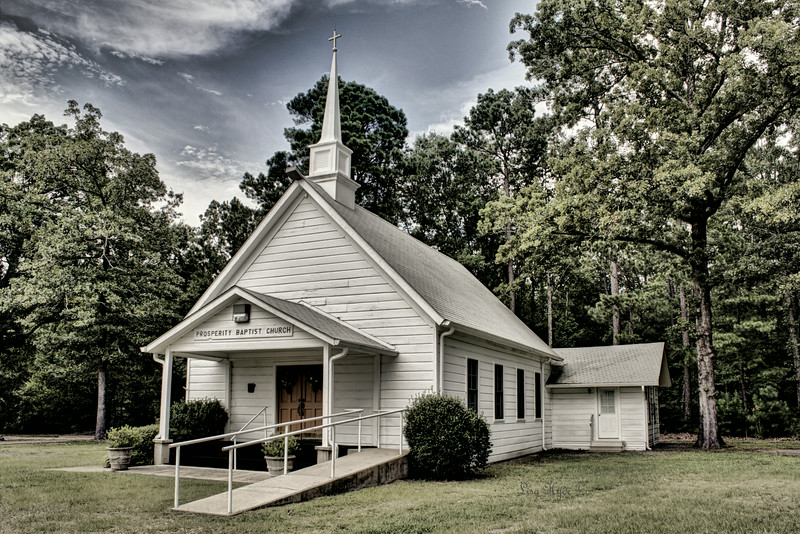Prosperity Baptist Church - Ramsey, AR ca. 1904