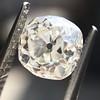 0.94ct Antique Cushion Cut Diamond GIA K Sl1 7