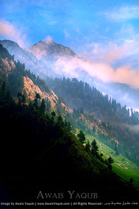 Early morning view at Naran Valley, A road from Naran leads to Lalazar. You can hire jeep from Naran  Very easy