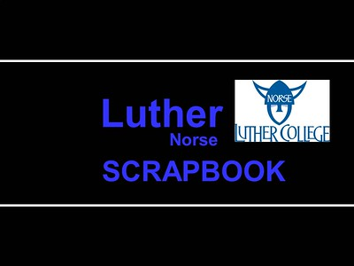 Scrapbook - Halversons at Luther College