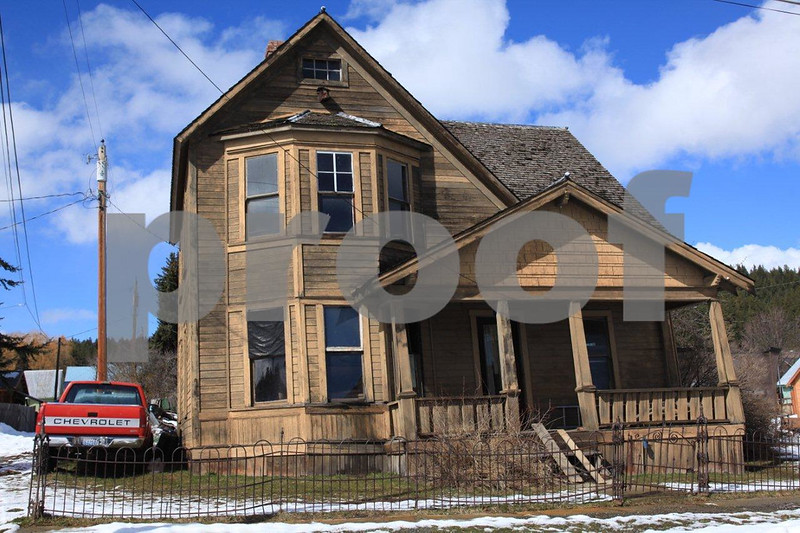 Old house in Roslyn on March 19, 2011.