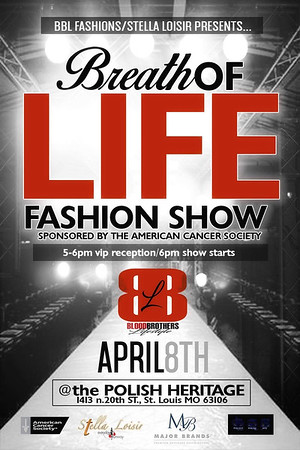 Chuck Pfoutz Presents Breath Of Life Fashion Show 2018