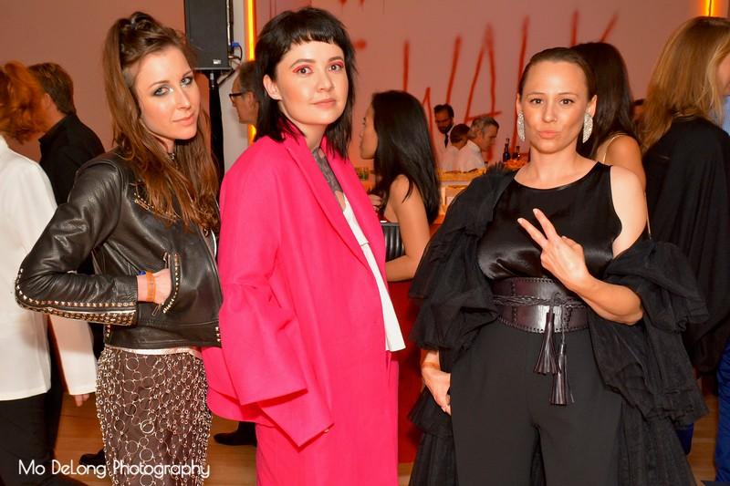 Bridget Hollsad, Hollyann Fine and Sahannen Jett