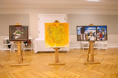 Thorton Dial Self Taught Emerging Artist @ Mint Museum Randolph 9-23-12 by Jon Strayhorn