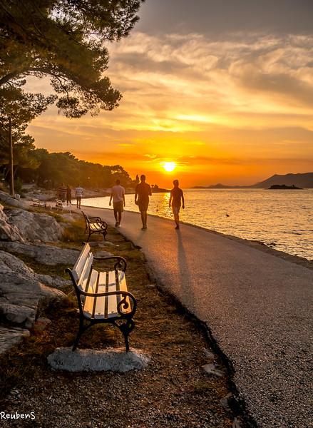 Cavtat Bench at sunset.jpg