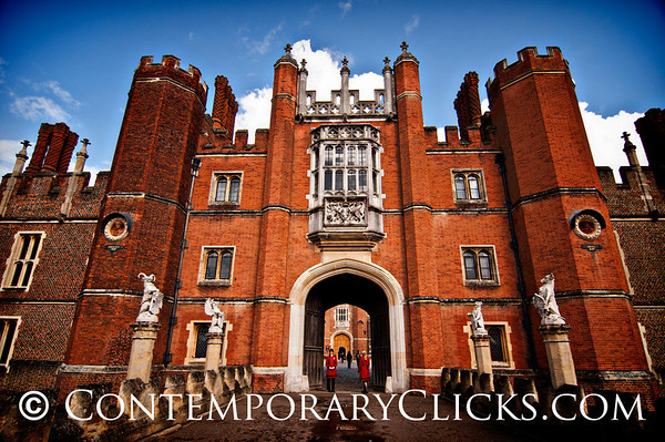 Hampton Court, England