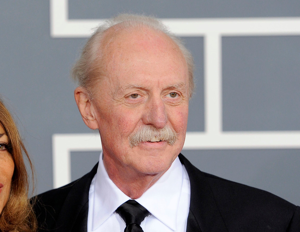 . Butch Trucks at the 54th annual Grammy Awards in Los Angeles. Trucks, one of the founding members of the Southern rock legends The Allman Brothers, died, Tuesday, Jan. 24, 2017, at his home in West Palm Beach, Fla. He was 69. (AP Photo/Chris Pizzello, File)
