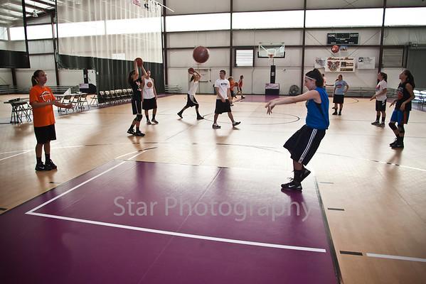 Basketball Camp at ETSC  06-02-11
