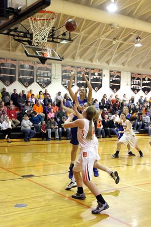 Girls Basketball, Danville vs Van Buren 12/8/2015