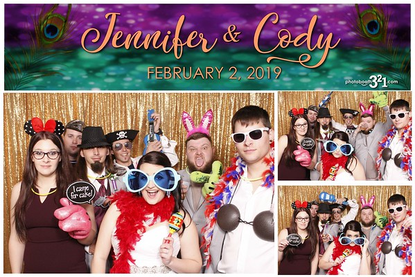 Jennifer and Cody Wedding 2019