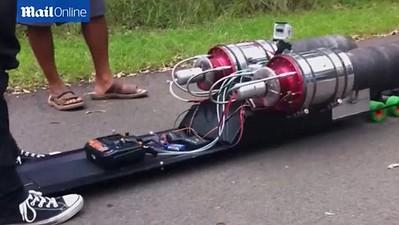 Rocket/jet power landluge