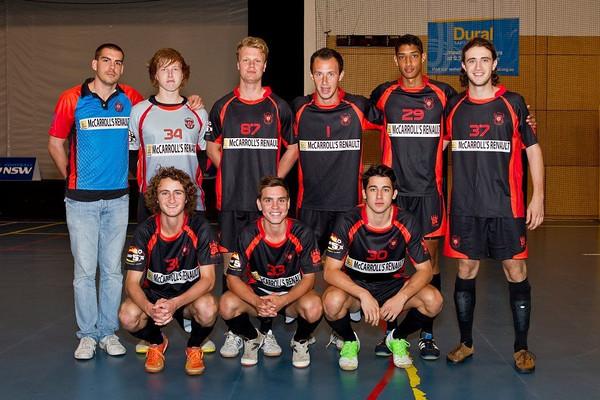 Phoenix Futsal 2012/13