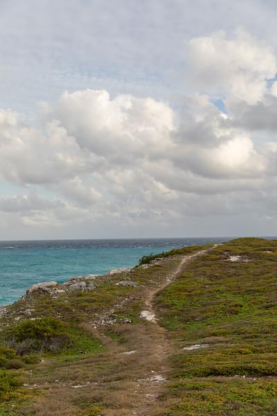 Late afternoon walk to Punta Sur Mayan ruins.