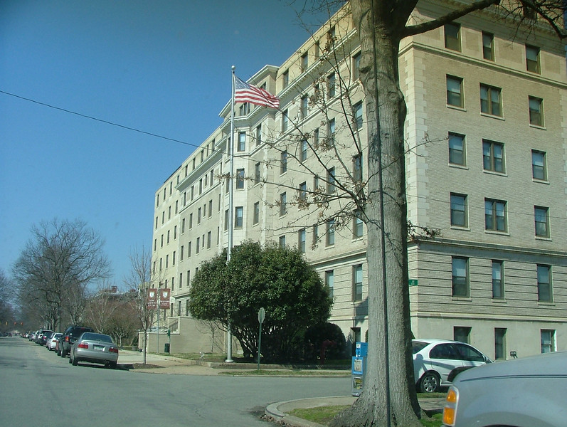 """Johnson Wallace hospital where Al and his 3 siblings were born -- now """"Kensington Court"""""""