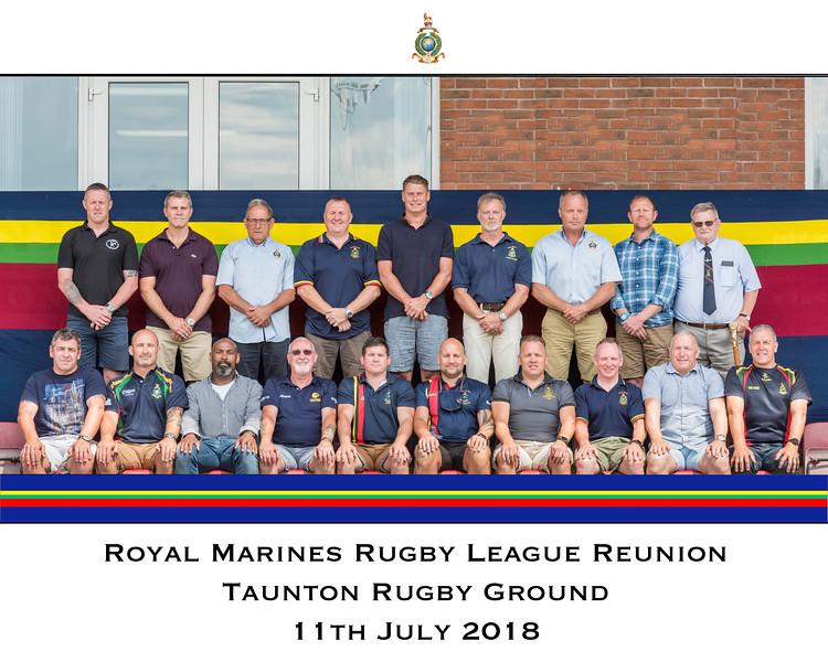 Royal Marines Rugby League Vs Parachute Regiment 2018