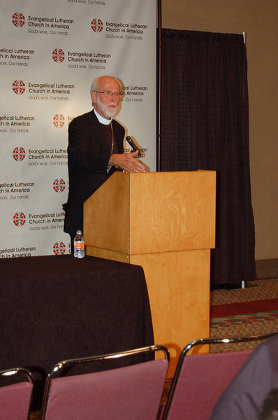 Presiding Bishop Mark S. Hanson explains some of the topics being brought to this year's assembly.