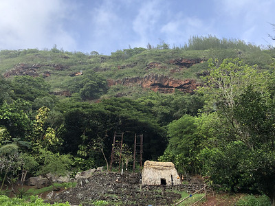 Waimea Valley, Heiau Archeological Site