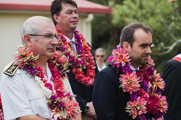 Visite du Ministre des Outres-mer à l'Ile des Pins