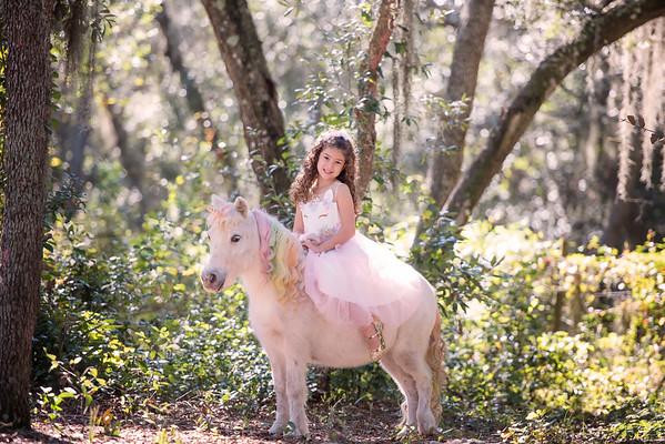 Amanda and her Unicorn Nov 2018