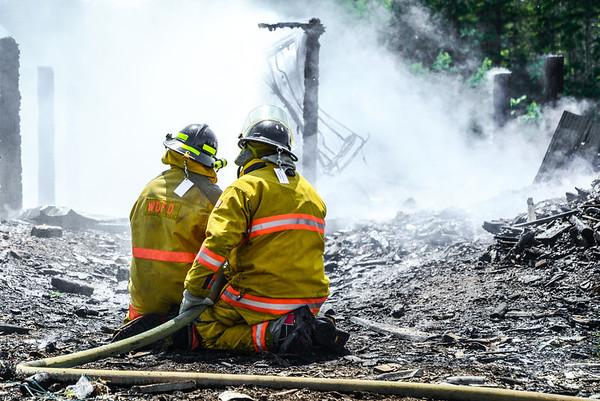 Barn Fire Radwing Road, June 10, 2013