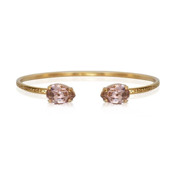 Petite Drop Bracelet / Vintage Rose