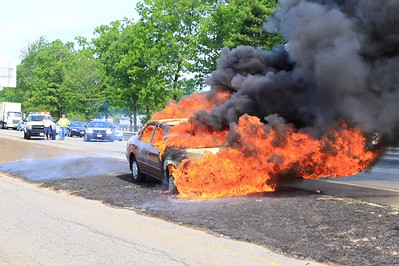 May 27th - Route 2 Car Fire