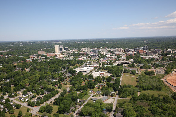 Downtown Greenville Aerials